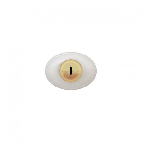 Augen oval beige