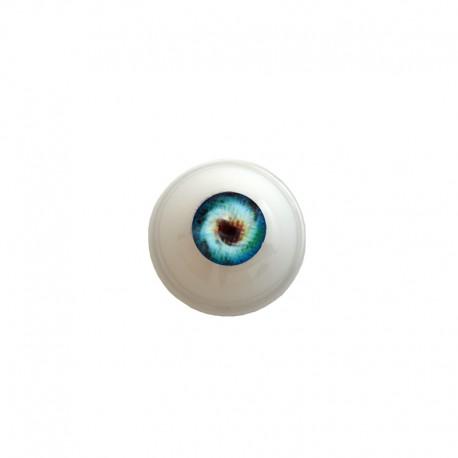 Augen rund blau